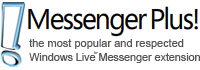 Messenger Plus CA  Toolbar