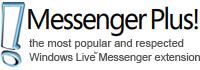 Messenger Plus Live US Toolbar
